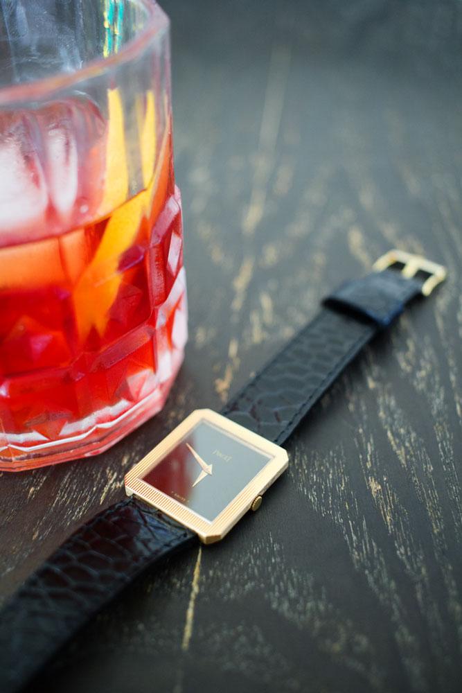 montre-vintage-piaget-protocole-cocktail-negroni