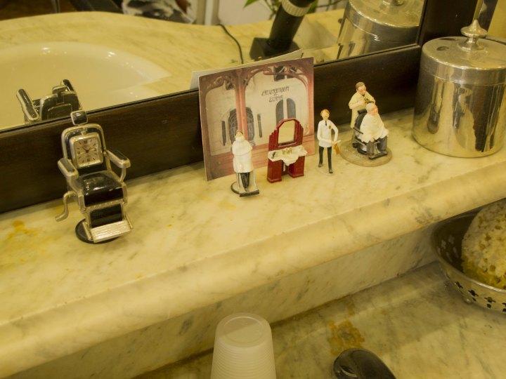 horloge coiffeur