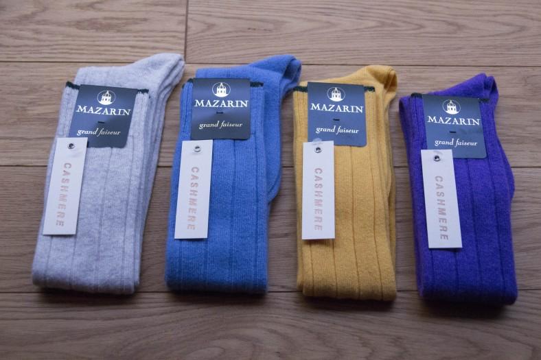 cashmere chaussettes
