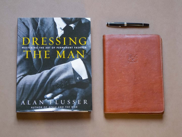 livre Dressing The Man de Alan Flusser