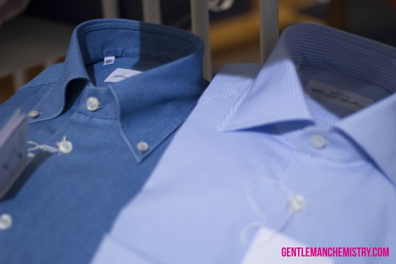 avino denim shirt