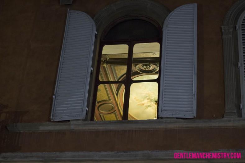 di notte finestra
