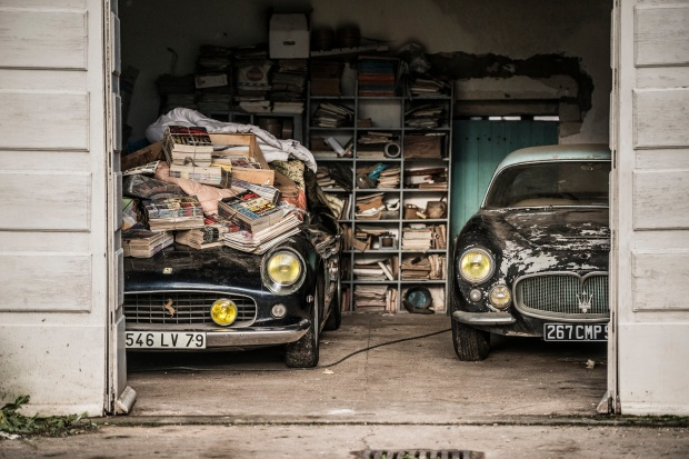 1961-Ferrari-250-GT-SWB-California-Spider-et-1956-Maserati-A6G-Gran-Sport-Frua-Collection-Baillon----Artcurial