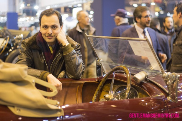 Stéph & Old Car