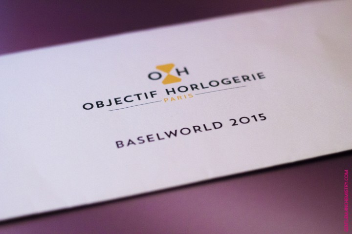 Objectif horlogerie Baselworld Invitation copie