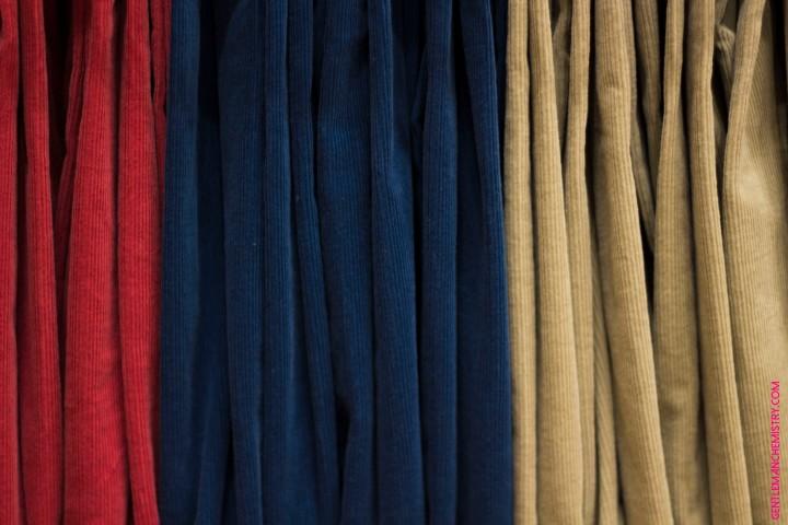 pantaloni di velluto copie