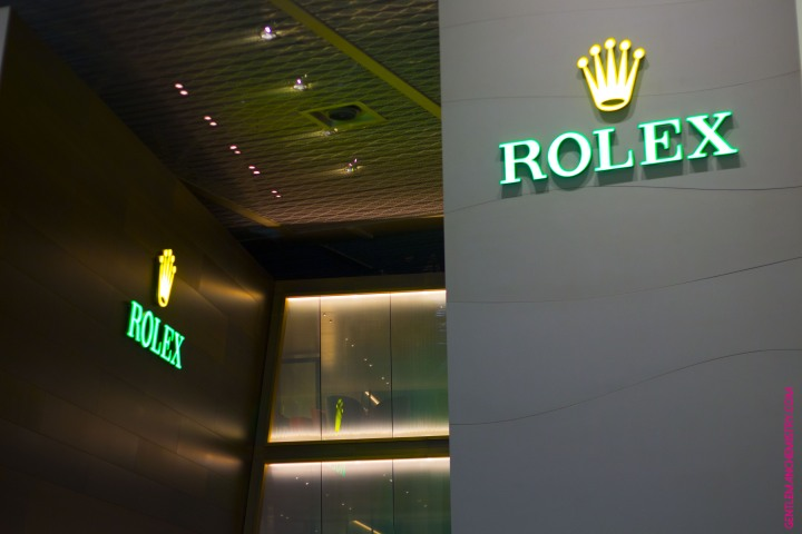 Rolex logo copie
