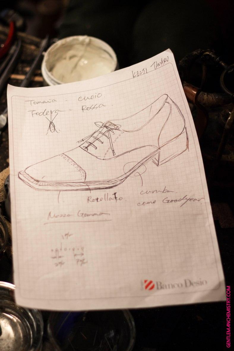 foglio disegno scarpa copie