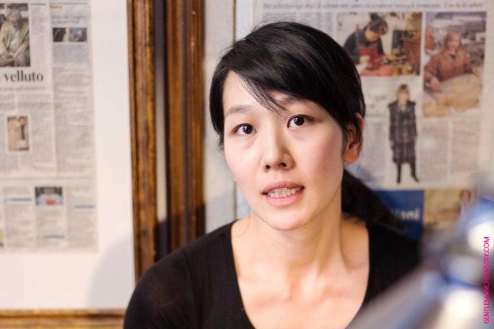 Giapponese Mannina Ragazza ritratto copie