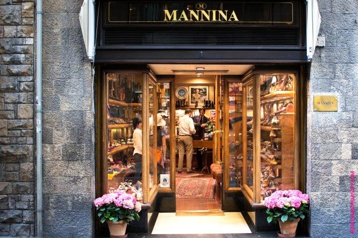 Mannina Firenze negozio copie