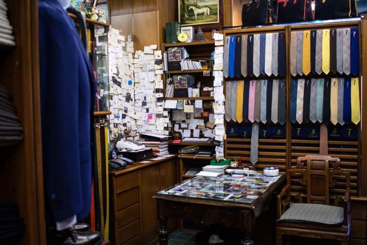 Mur de cravates 7 Al Bazar de Lino Ieluzzi.