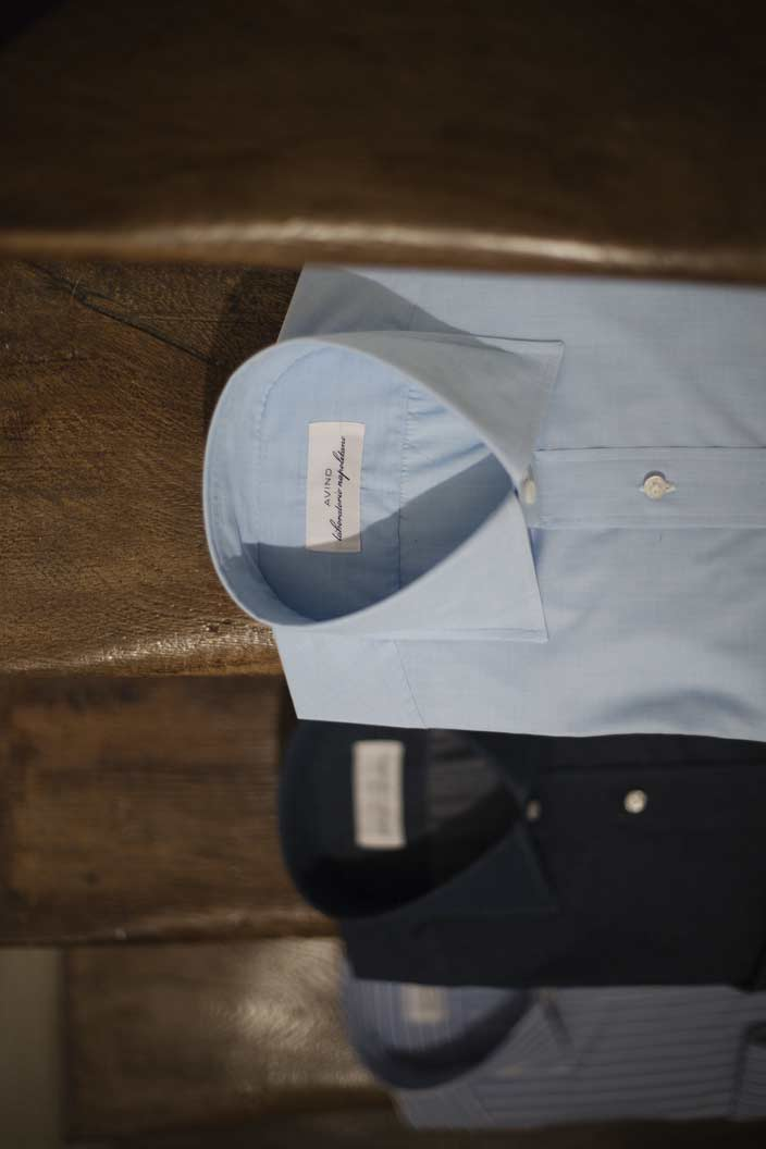 Avino Laboratorio Napoletano, Le gourmet de la chemise sur mesureNapolitaine