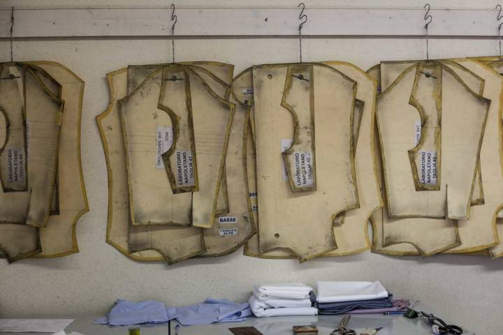 Patrons chemise Avino Laboratorio Napoletano.