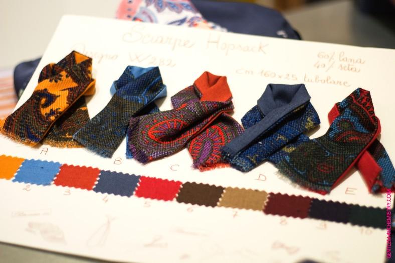 campionario sciarpe copie