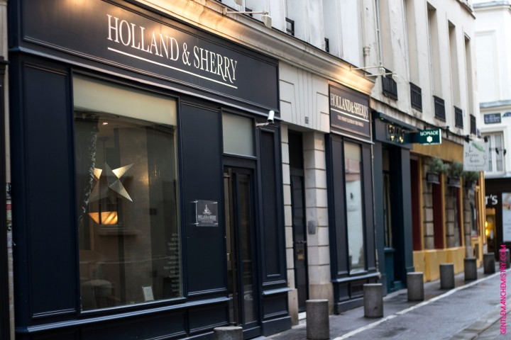 Holland & Sherry showroom rue copie