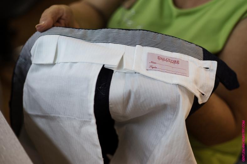 pantalone dalcuore etichetta copie