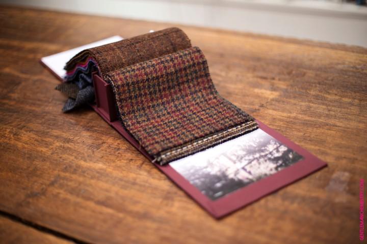 Holland and Sherry, les tissus en laine d'Higlander