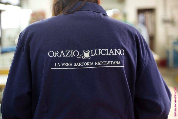 Orazio Luciano, La Vera Sartoria Napoletana(workshop)