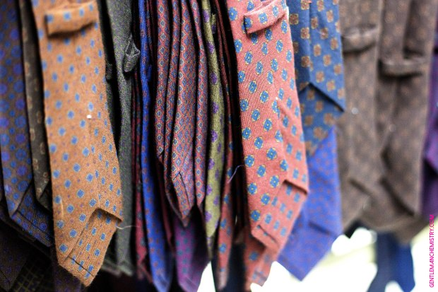 wool ties Calabrese copie