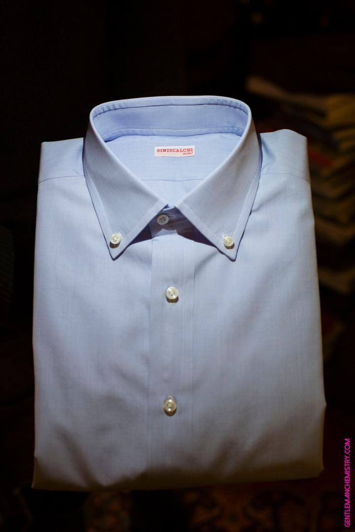 Camicia blu siniscalchi copie