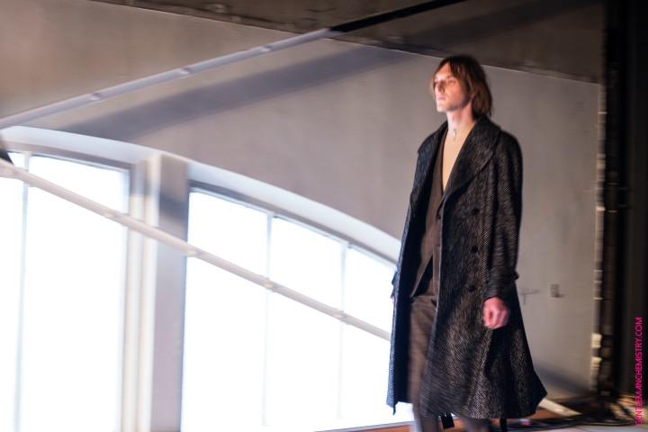 harris tweed overcoat copie