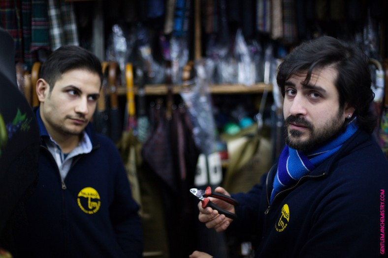 Mario Talarico e assistente copie