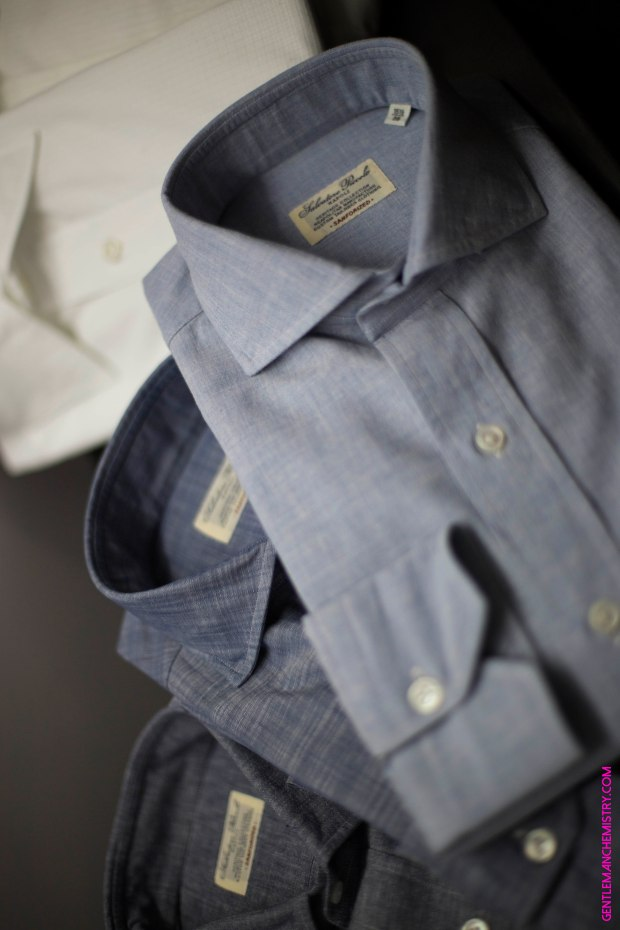 camicie blu salvatore piccolo copie