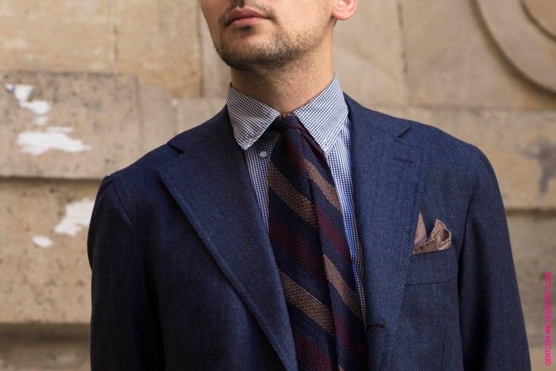 look dettaglio cravatta marino pochette calabrese giacca orazio luciano by cécile