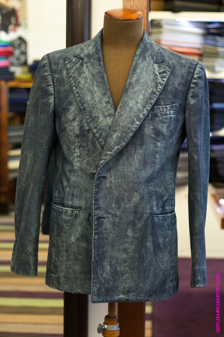 Cifonelli Denim copie