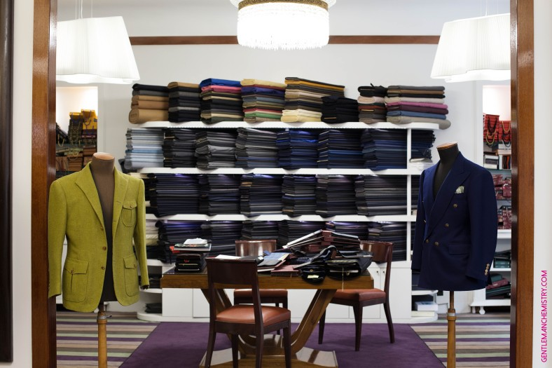 cifonelli showroom giacche copie