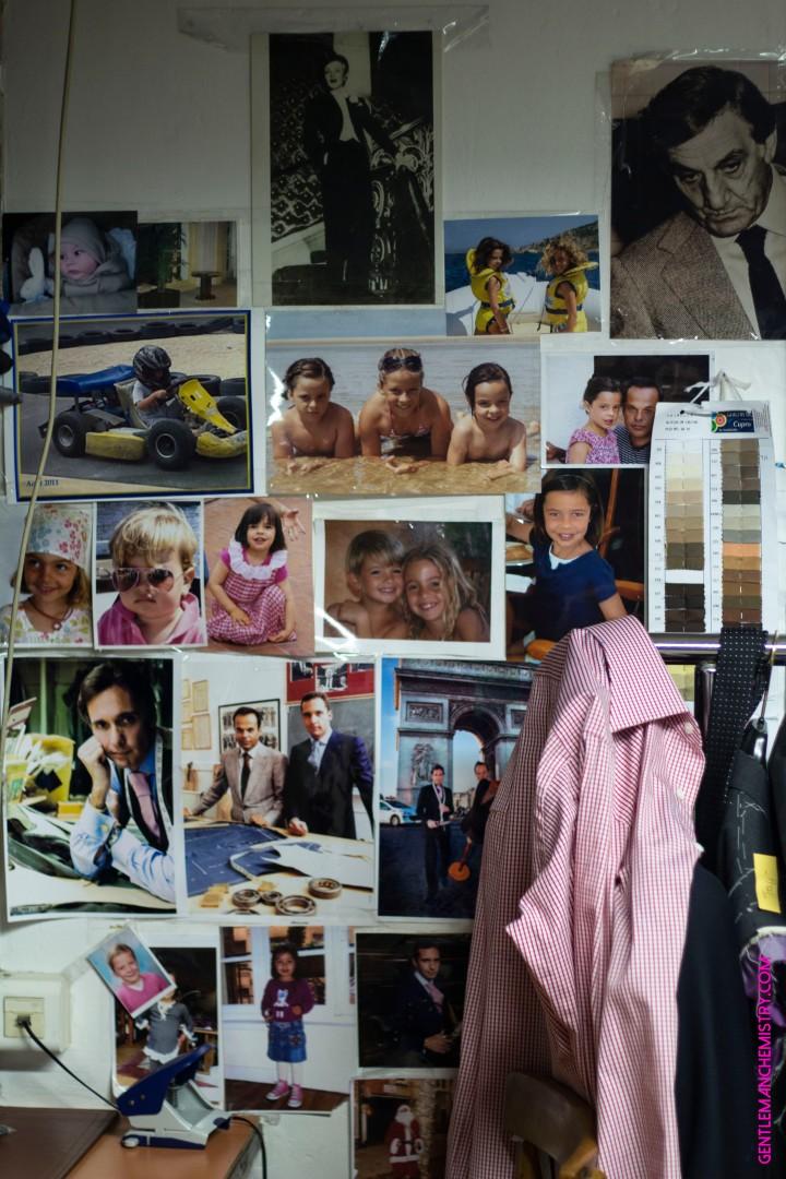 Lino Ventura Cifonelli Family pictures copie