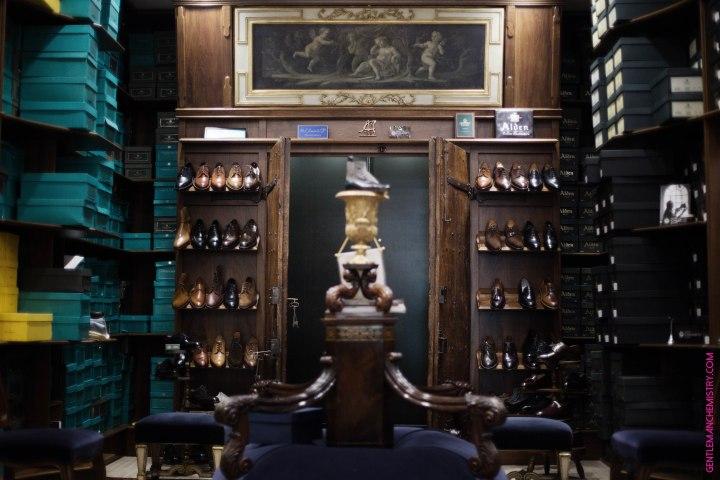 reparto scarpe cilento copie