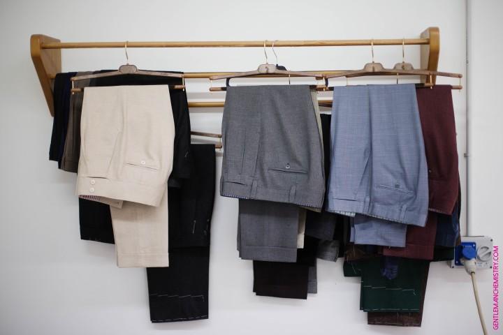 ambrosi trousers sospesi orrizzontale copie