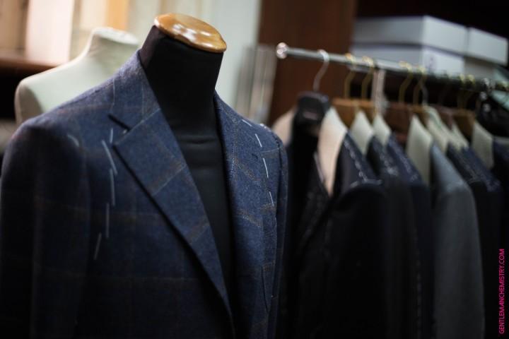 blue sartoria formosa jacket copie
