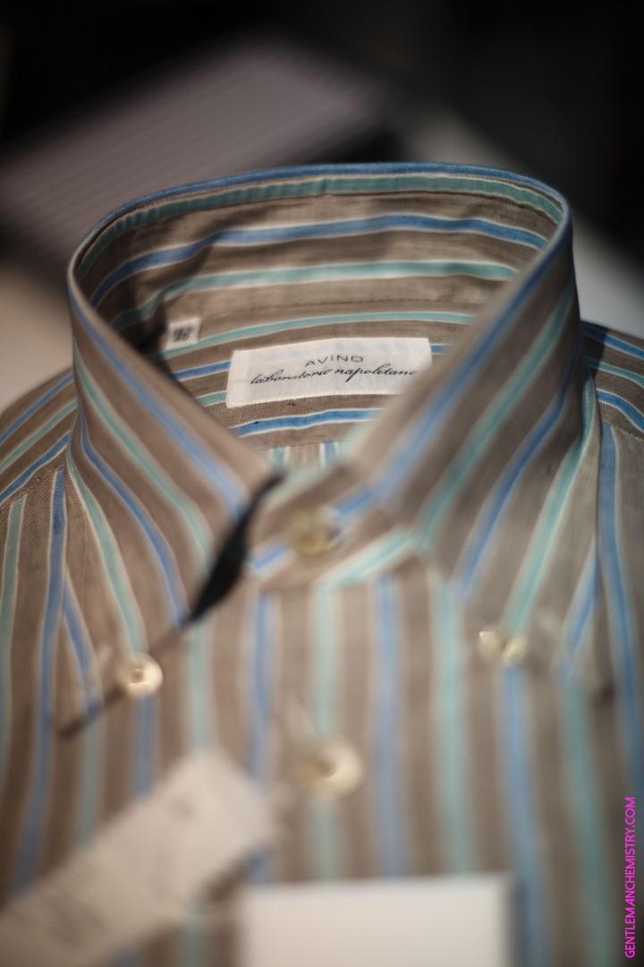 avino brown green blue stripes copie