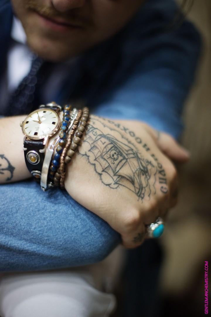 jp boschi tatoo orologio d'amico copie