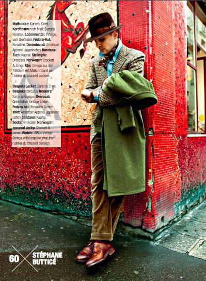 Gentleman Look Book, BernhardRoetzel