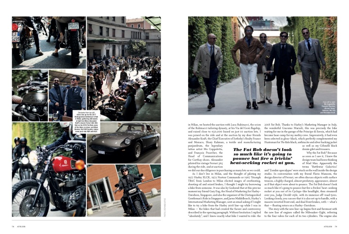 The Distinguished Gentleman's Ride 2017, The Rake Magazine issue 55