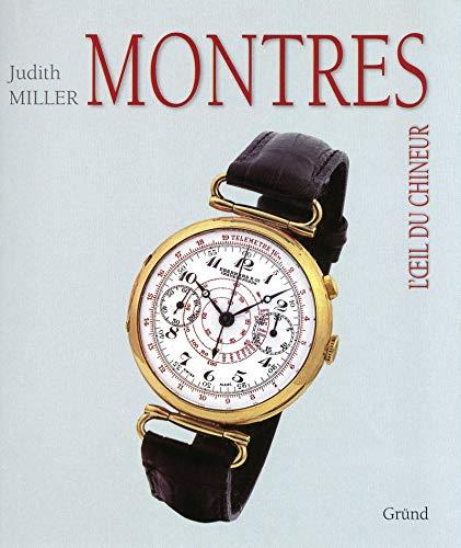 Couverture du livre Montres de Judith Miller.