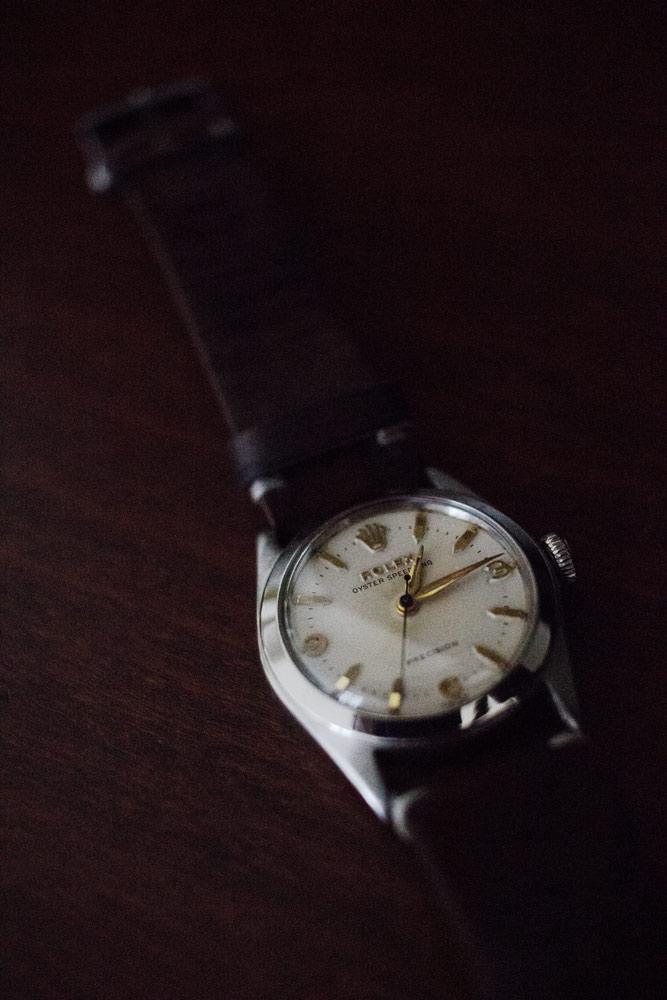 Montre vintage Rolex Oyster Speedking.