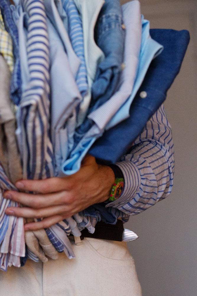 Comment ranger une garde-robe pour homme et pour toujours?