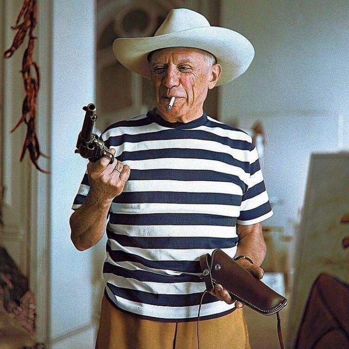 pablo-picasso-mariniere-chapeau-cowboy
