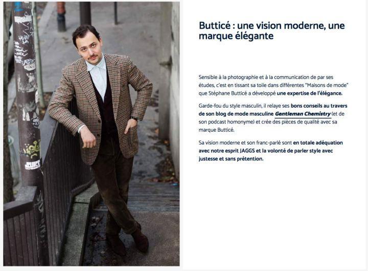 Stéphane Butticé dansJaggs