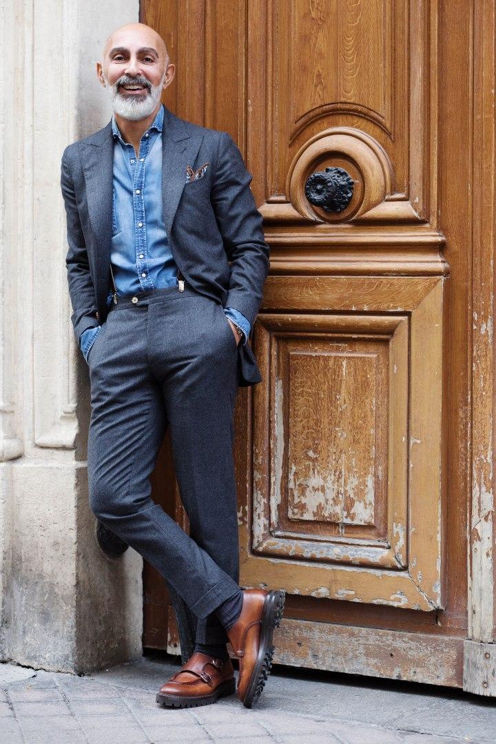 Norbert Benaim, de vendeur de costumes pour homme à vendeur de produits pourgentleman