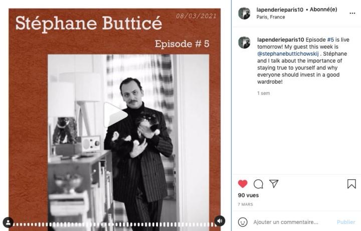 Stéphane Butticé invité du le Podcast –LaPenderie