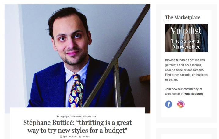 interview Stéphane Butticé –Vulpilist