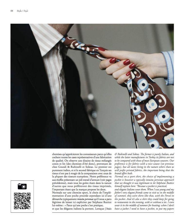 Butticé dans DandyMagazine